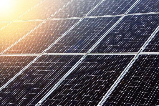 Bild einer Solaranlage