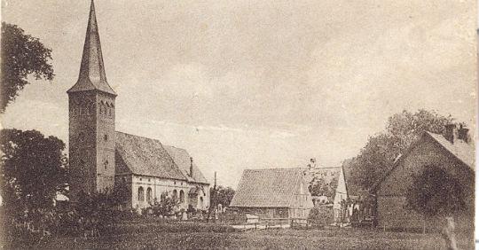 Haseldorfer Kirche vor 150 Jahren