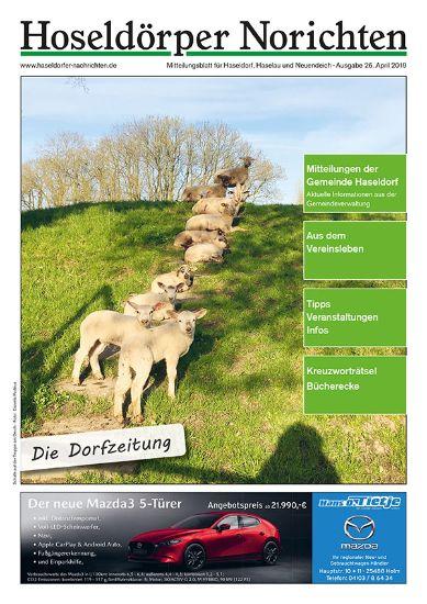 Blätterausgabe Haseldorfer Nachrichten April 19
